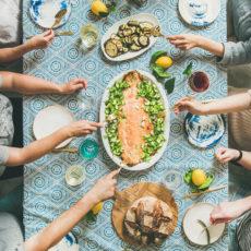 Recetas fáciles para organizar una cena de verano